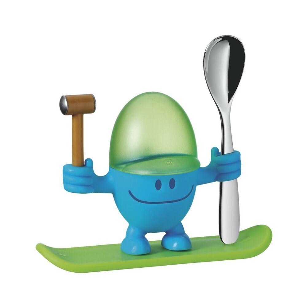 WMF McEgg gyermek lágytojás evő készlet kék