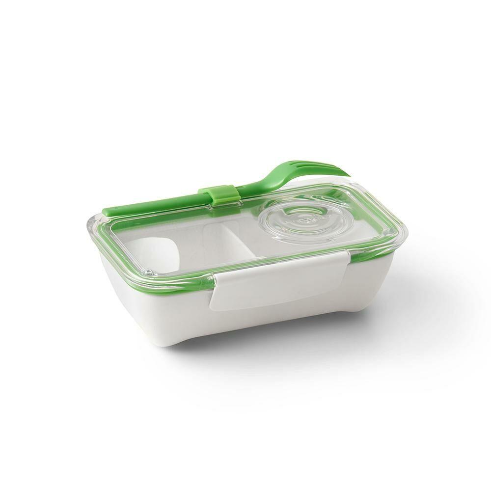 BB Bento Box ételhordó doboz evőeszközzel lime