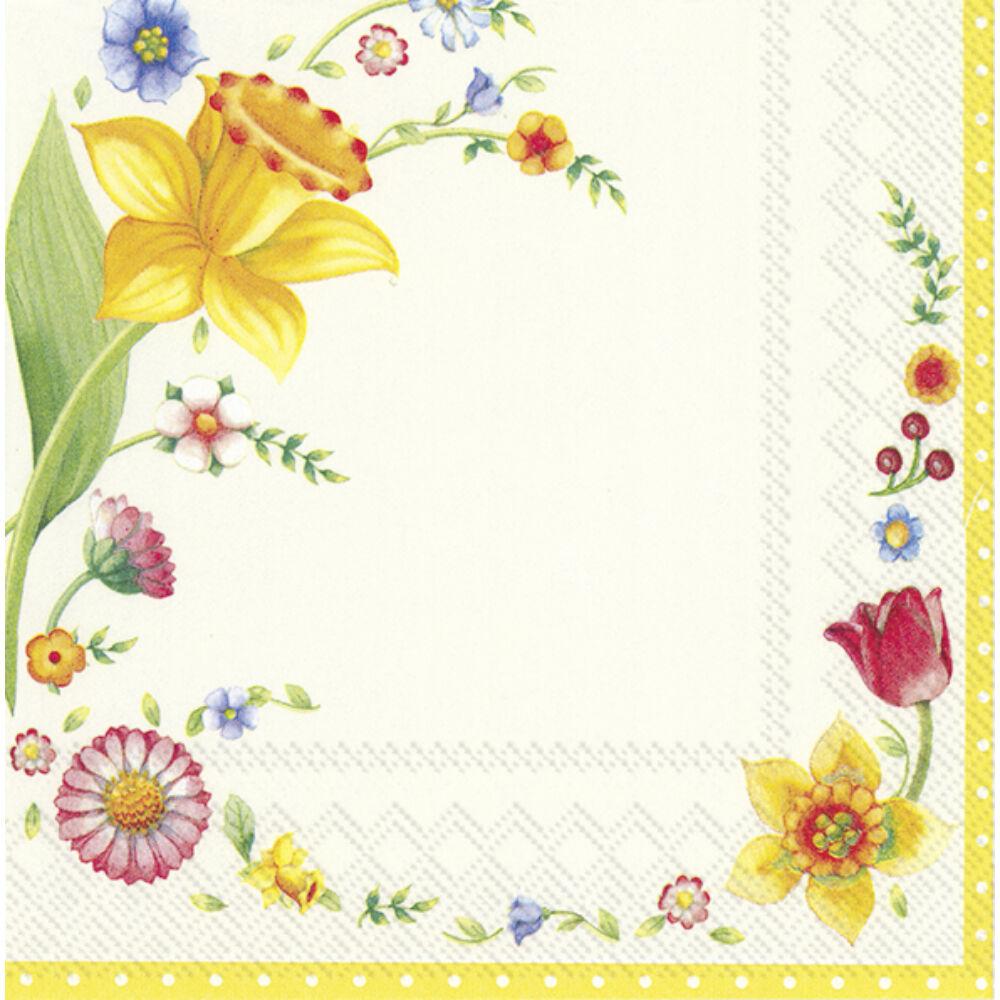 IHR papírszalvéta csomag 33x33cm Spring Fantasy Flowers