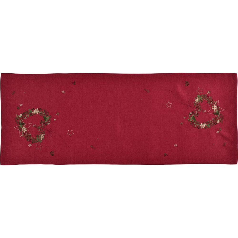 Sander asztali futó CAROL 50x140cm FB26 vörösbor