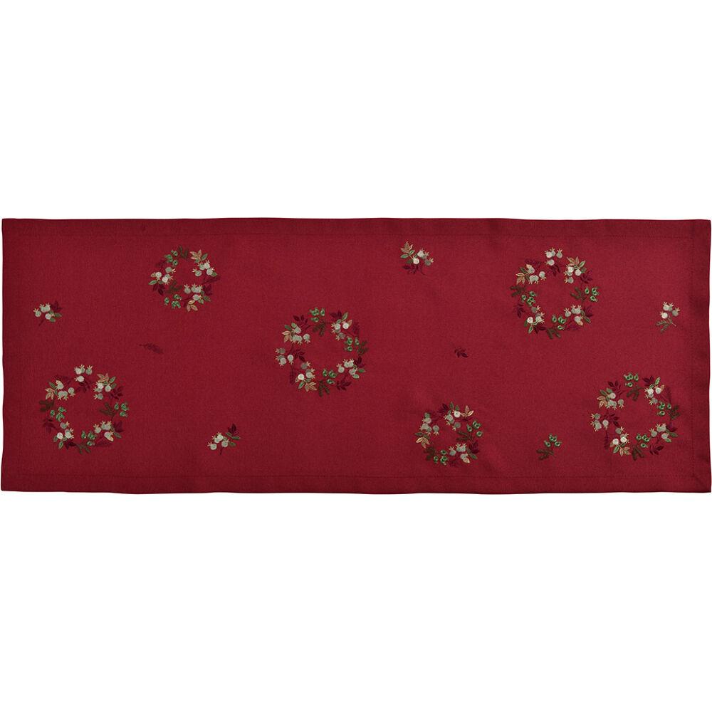Sander asztali futó FAIRYTALE 50x140cm FB26 vörösbor