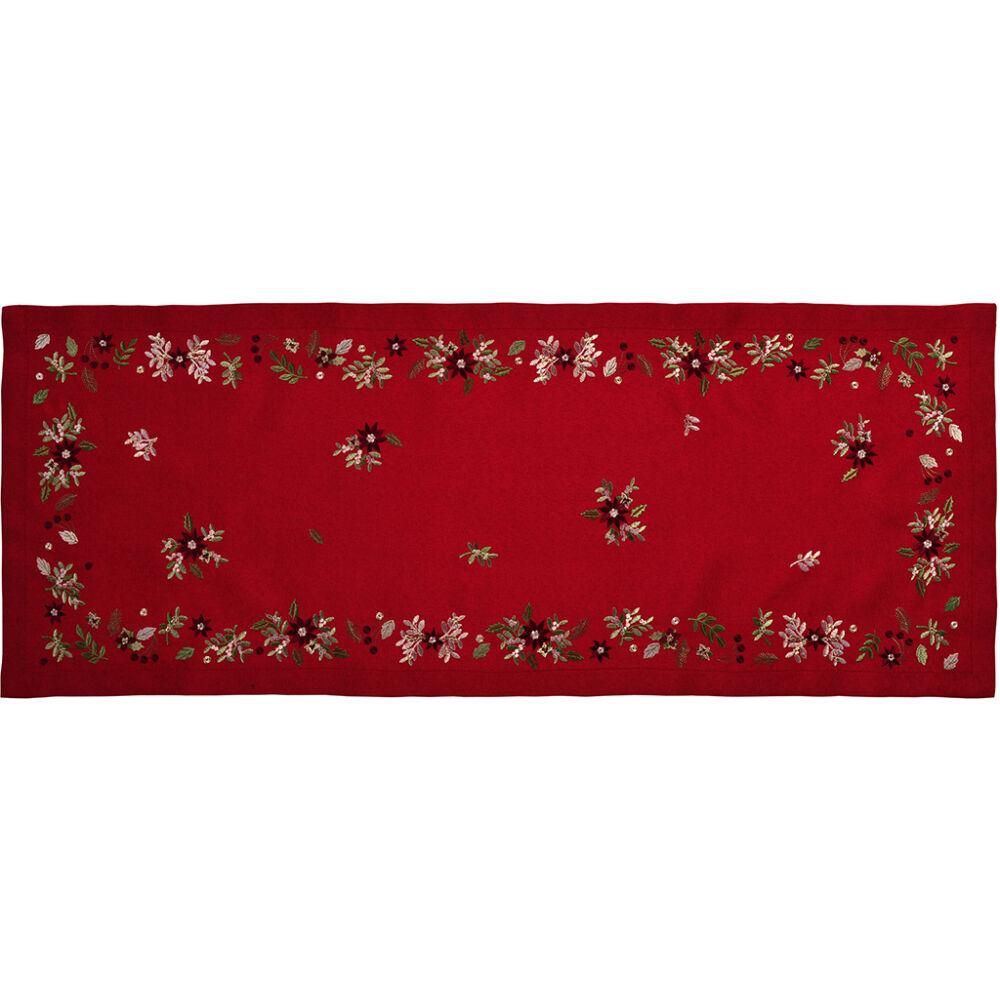 Sander asztali futó HOLYWELL 50x140cm FB01 piros