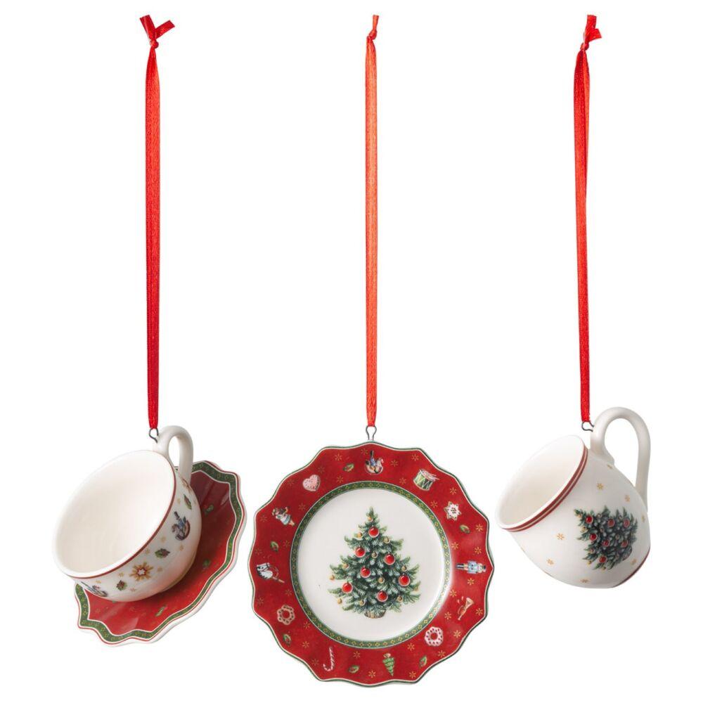 V&B Toy's Delight Decoration karácsonyfadísz szett 3részes, Reggeliző szett
