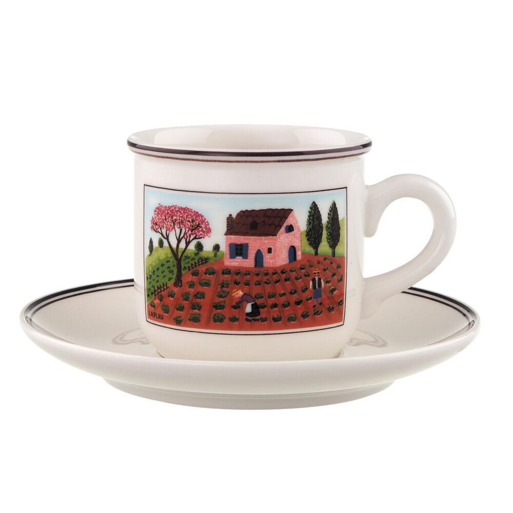 V&B Design Naif kávés csésze alátéttel