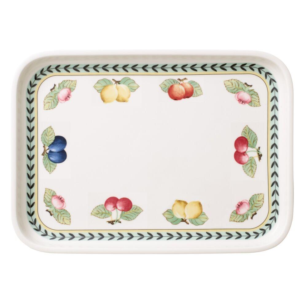 V&B French Garden Baking Dishes szögletes szervírozó tál-fedő 36x26cm