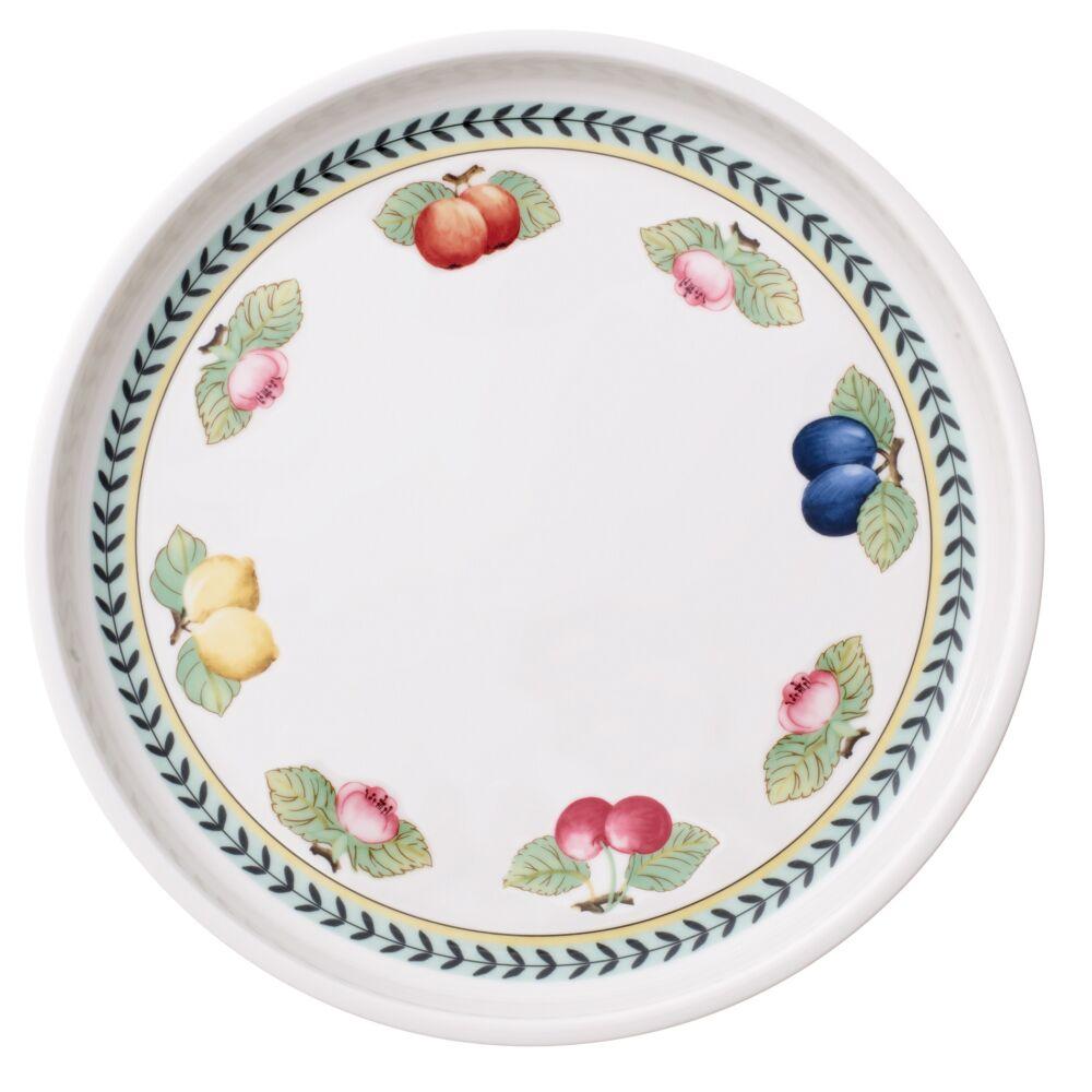V&B French Garden Baking Dishes kerek szervírozó tál-fedő 30cm