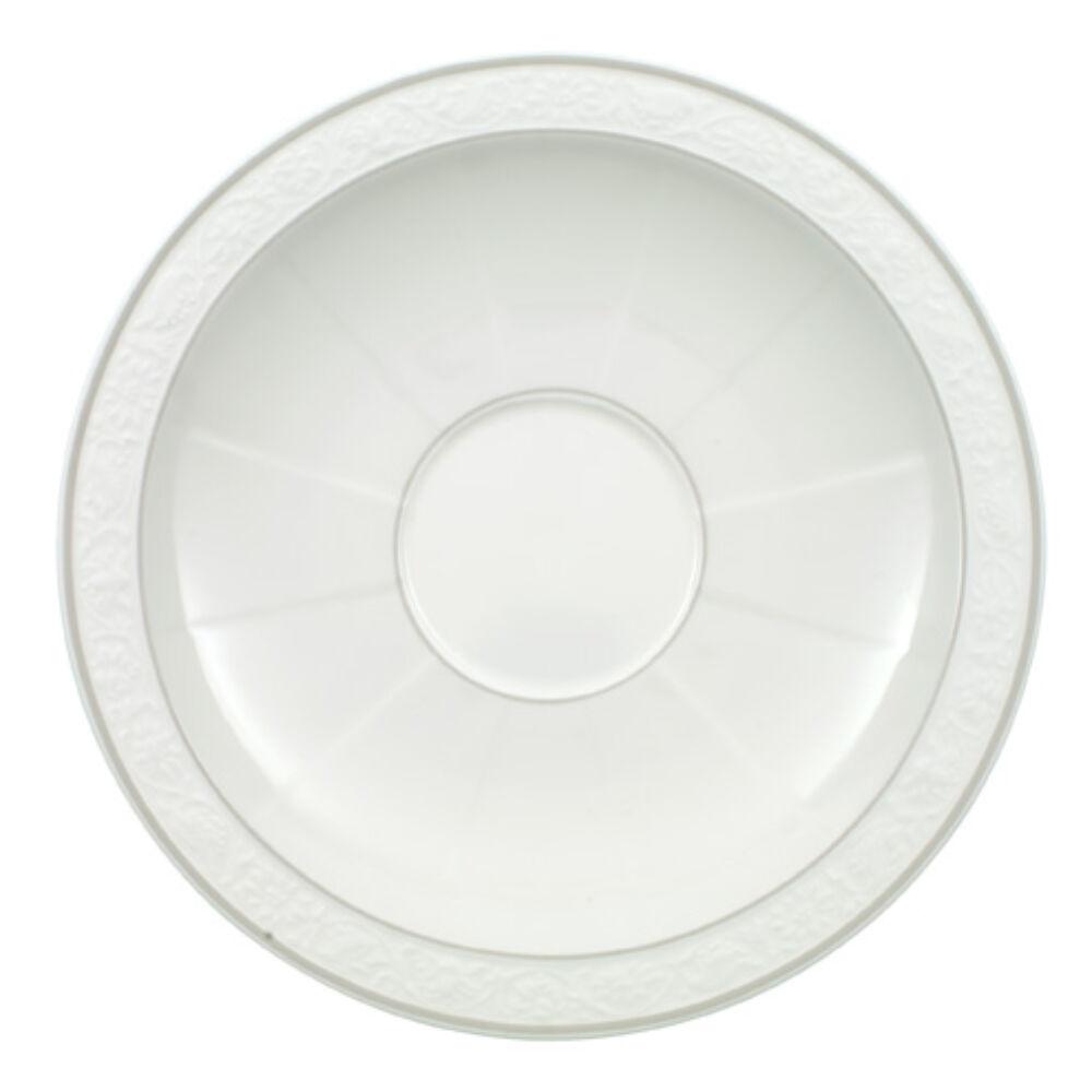 V&B Gray Pearl alátét reggeliző csészéhez-leveses csészéhez 18cm