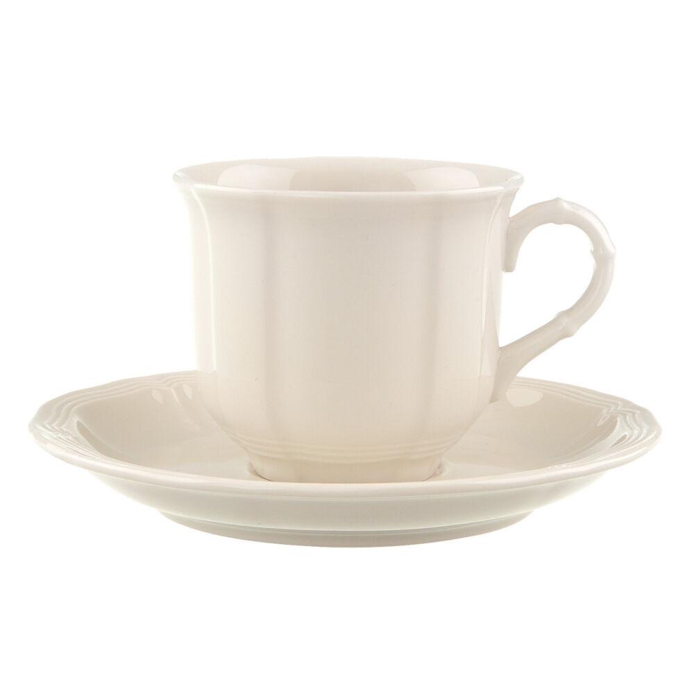 V&B Manoir kávés csésze alátéttel