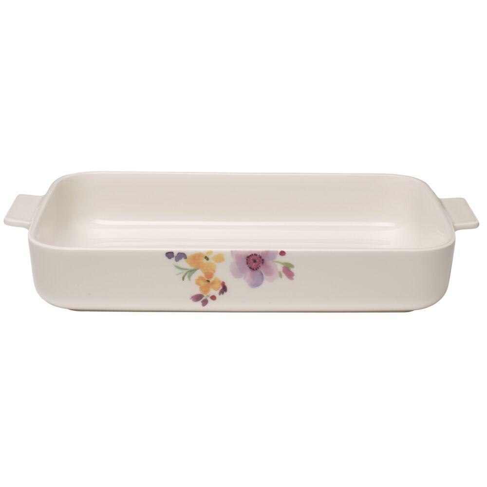 V&B Mariefleur Basic Baking Dishes szögletes sütőtál 34x24cm