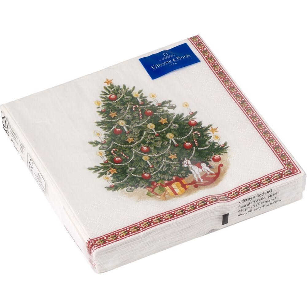 V&B Winter Specials papírszalvéta csomag 25x25cm, Karácsonyfa
