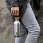 BB BAM rozsdamentes acél vizespalack 0,60l olivazöld