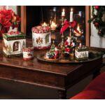 V&B Christmas Toys zenélő doboz kerek, Gyerekek