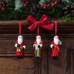 V&B Nostalgic Ornaments karácsonyfadísz szett 3részes, Télapók