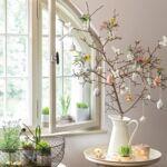 V&B Spring Fantasy függő tojás dísz, Pillangók