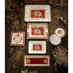 V&B Samarkand Accessories szögletes tál 14x14cm
