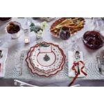V&B Toy's Delight büfé-alátéttányér fehér, Karácsonyfa