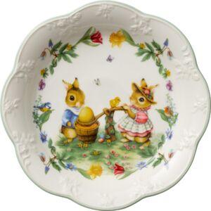 V&B Spring Fantasy süteményes tál közepes, Tojásfestés
