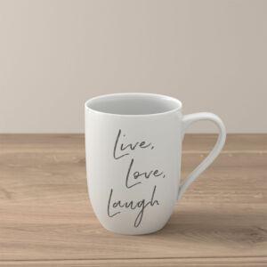 like Statement bögre 0,34l, Live Love Laugh