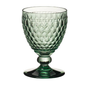 V&B Boston Coloured Green pohár vörösboros 0,31l