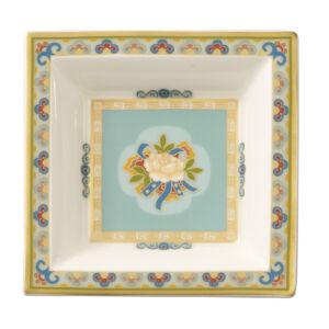 V&B Samarkand Aquamarin Gifts tálka négyzet alakú 10x10cm