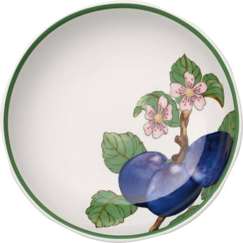 V&B French Garden Modern Fruits tál lapos 23,5cm, szilva