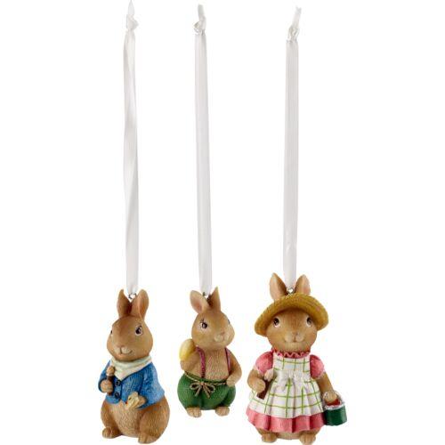 V&B Bunny Tales függő dísz szett 3részes, Nyuszik