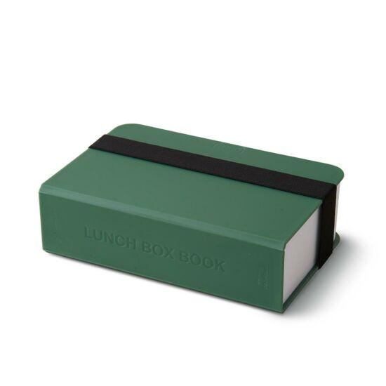 BB Lunch Box Book ételhordó könyv formájú olivazöld