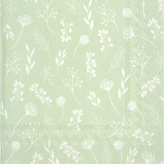 IHR papírszalvéta csomag 33x33cm Tilda Light Green