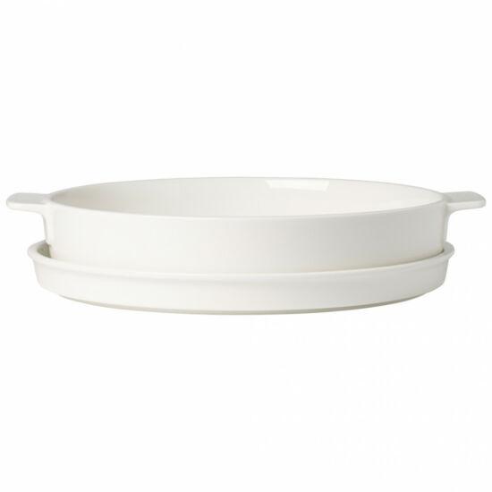V&B Clever Cooking kerek sütőtál fedővel 28cm
