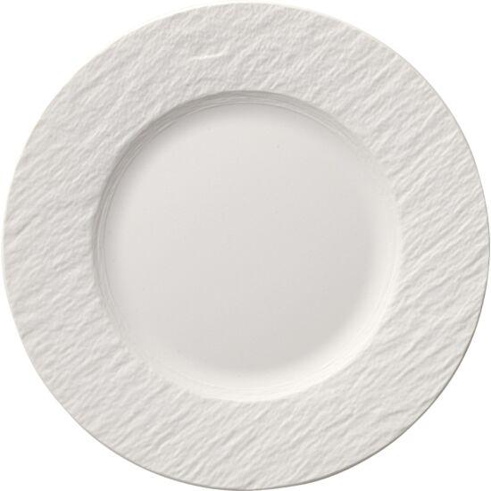 V&B Manufacture Rock Blanc csemegetányér 22cm