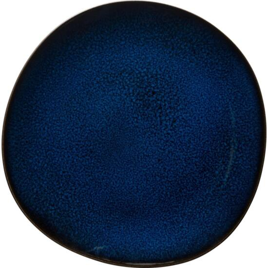 V&B Pottery Style Lave Bleu lapostányér