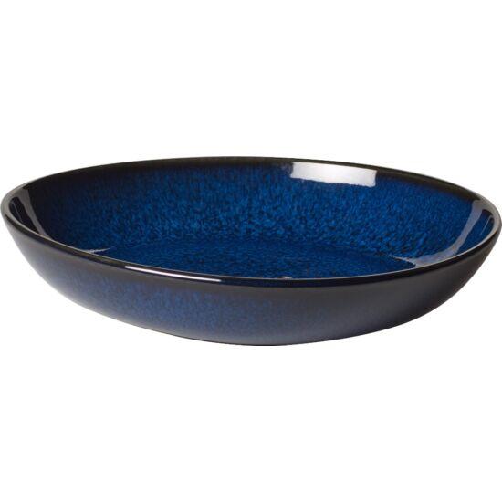 V&B Pottery Style Lave Bleu tál lapos 22cm