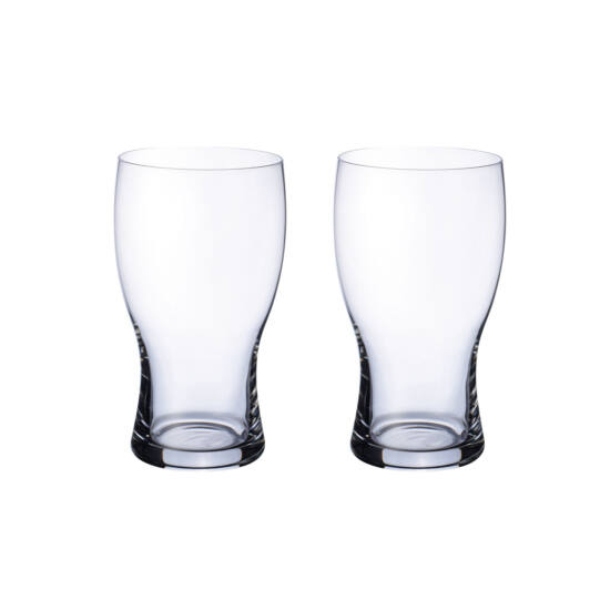V&B Purismo Beer sörös kupa szett 2részes