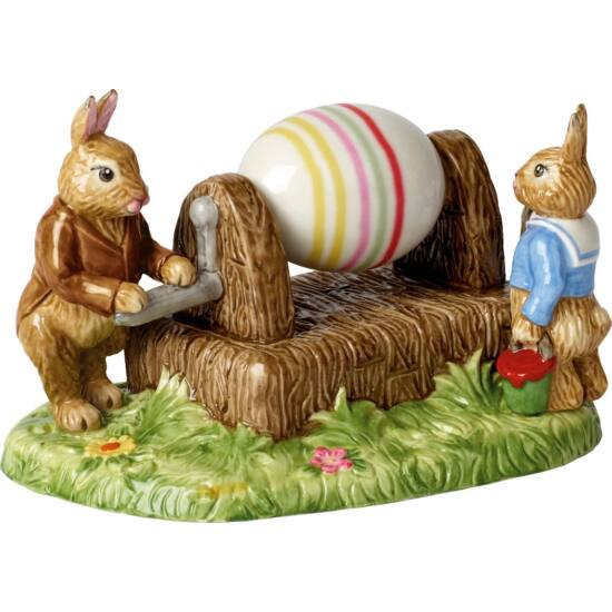 V&B Bunny Tales jelenet 16,5x11x16,5cm, Tojásfestés