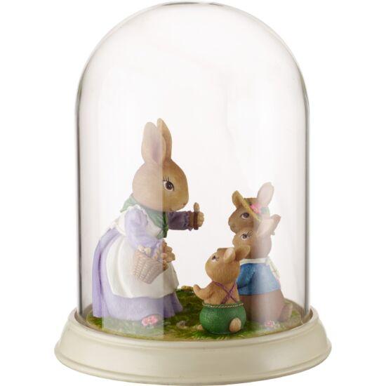 V&B Bunny Tales Nyuszi család búra alatt