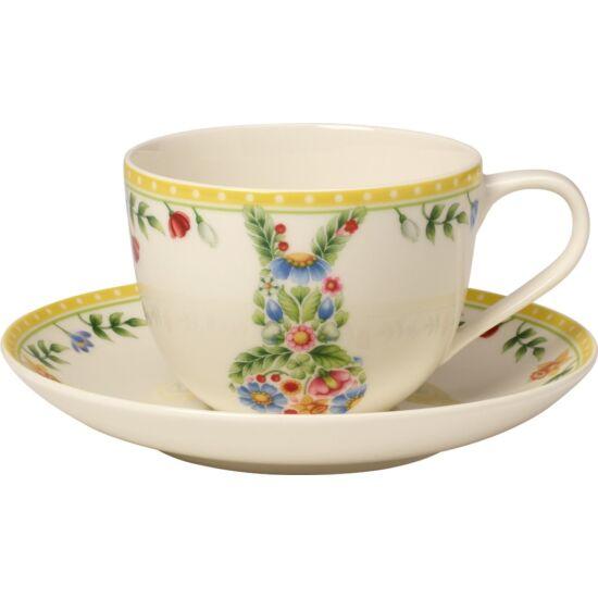 V&B Spring Awakening kávés csésze alátéttel