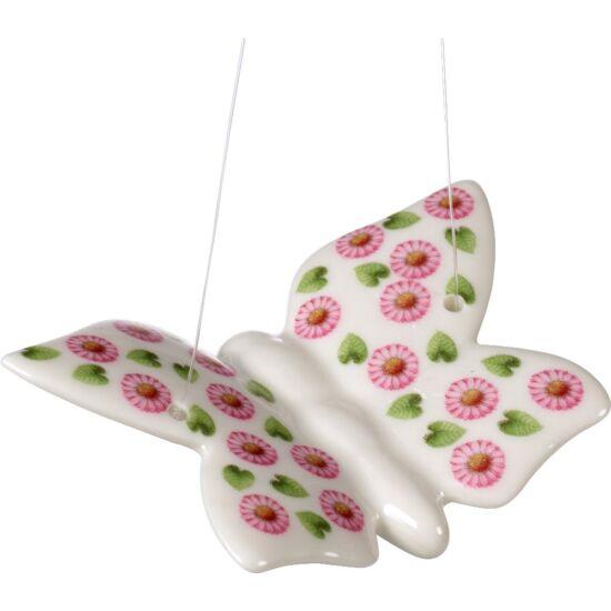V&B Spring Fantasy függő dísz 7,5x5cm, Pillangó Százszorszép