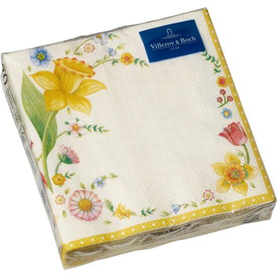 V&B papírszalvéta csomag 25x25cm, Húsvéti virágok