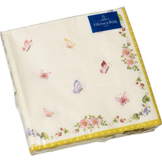 V&B papírszalvéta csomag 33x33cm, Pillangó