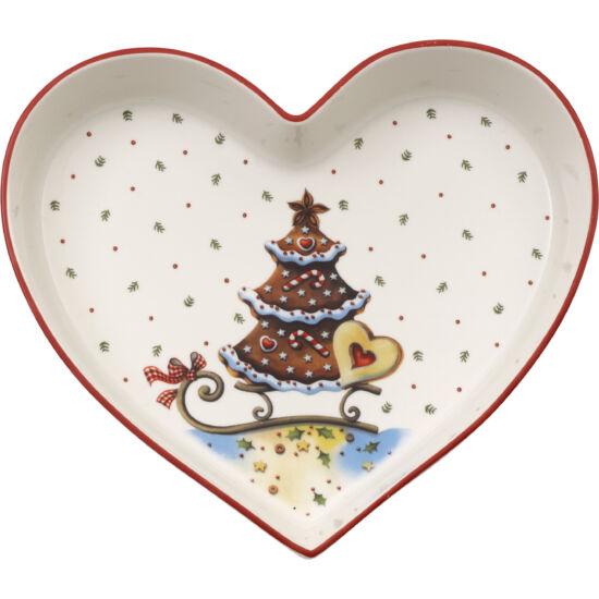 V&B Winter Bakery Delight cukorkás tálka, Szív