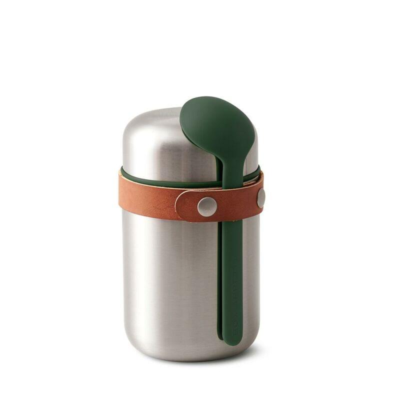 BB Termo-ételtartó acél olivazöld