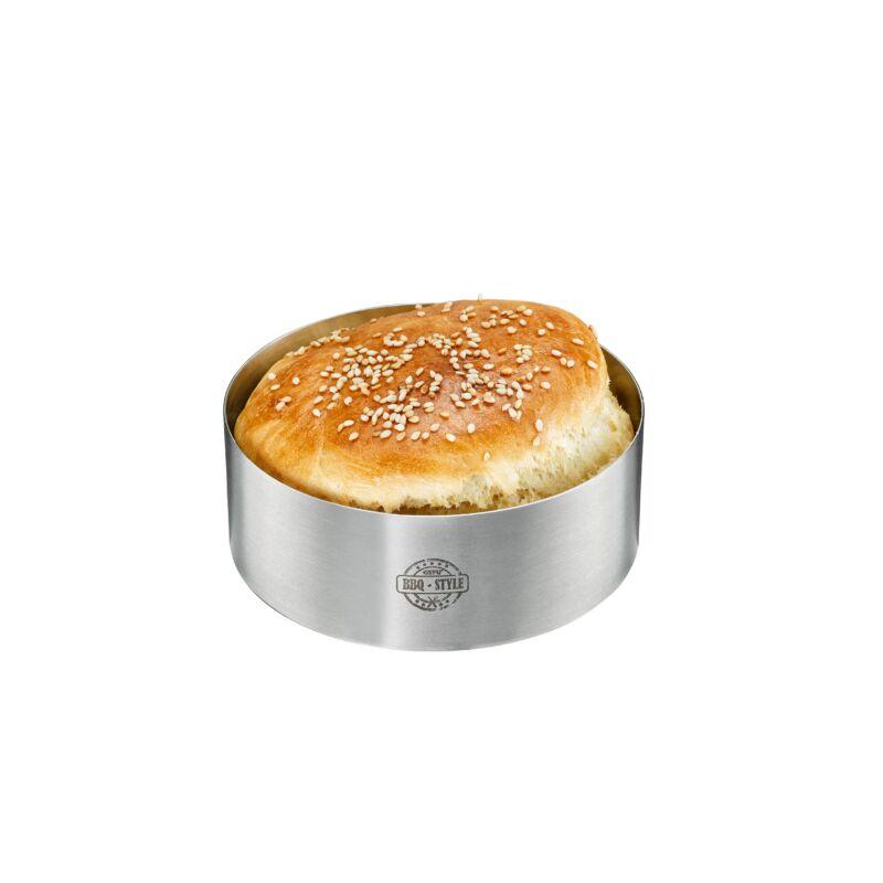 GEFU BBQ hamburgerzsemle sütő forma