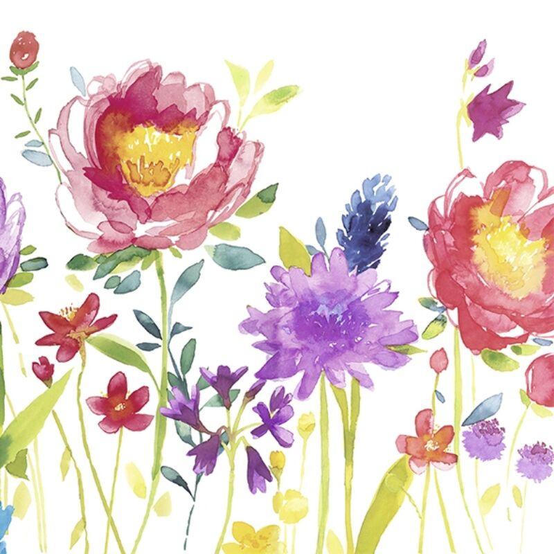 IHR papírszalvéta csomag 25x25cm Anmut Flowers