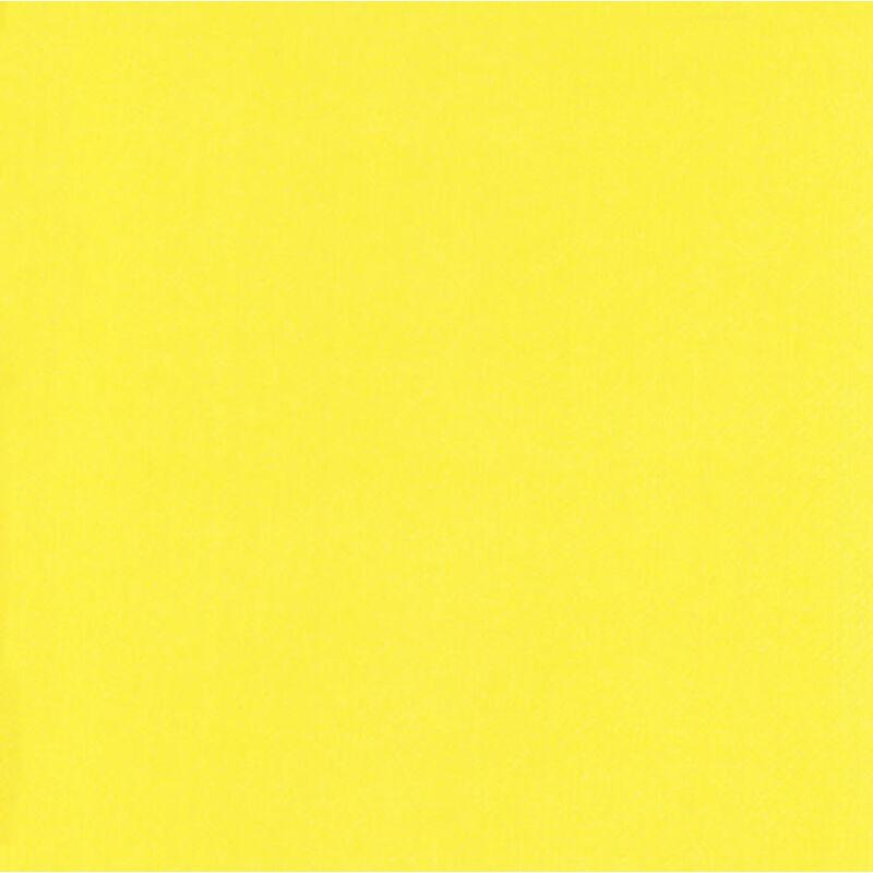 IHR papírszalvéta 40x40cm UNI sárga
