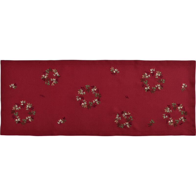 Sander asztali futó FAIRYTALE 40x100cm FB26 vörösbor