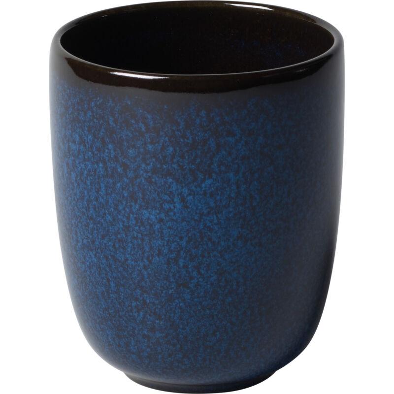 V&B Pottery Style Lave Bleu bögre fül nélkül