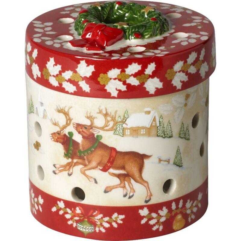 V&B Christmas Toys mécsestartó kerek, Gyerekek