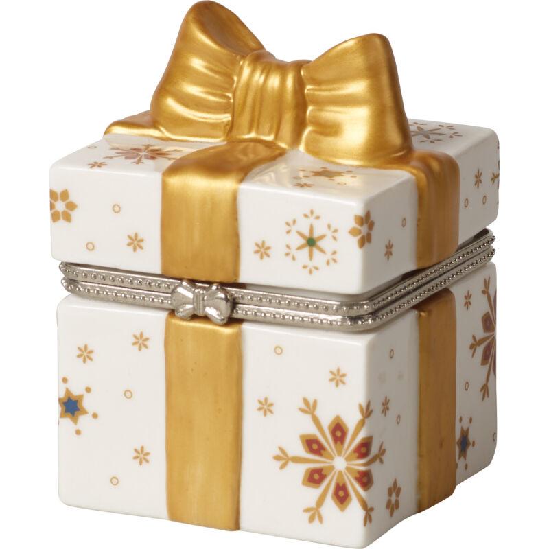 V&B Christmas Toys ajándék dobozka szögletes