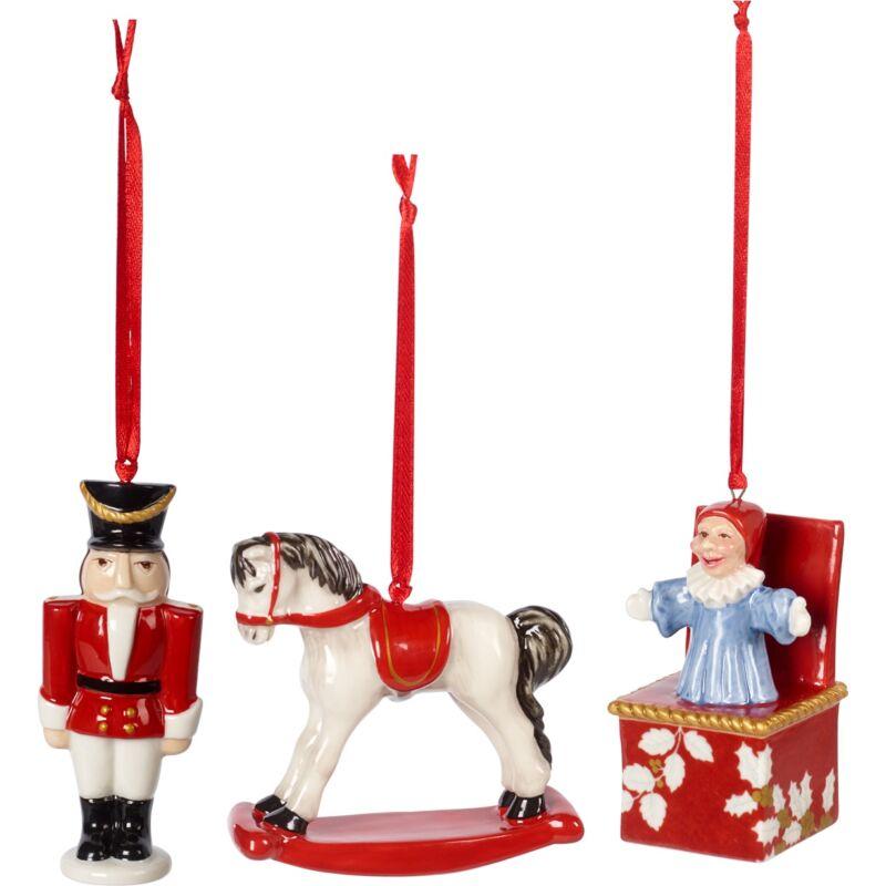 V&B Nostalgic Ornaments karácsonyfadísz szett 3részes, Játékok
