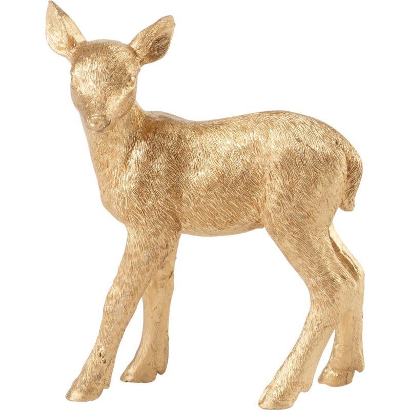 V&B Christmas Toys 2019 álló őzgida arany